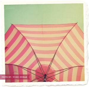 pink umbrella frame
