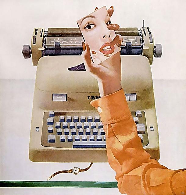 vintage ibm ad